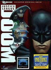Justice League Doom Special Edition 2-Disc Dvd Dc Universe Original Movie New Us