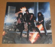 Kiss Animalize Poster Flat Square Vintage Promo 12x12 Band Shot