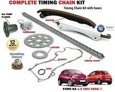 Pour Ford Ka 1.3 TDCI 10/2008 >> Hayon Complet Distribution Kit Chaîne