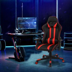 Multi-purpose & Adjustment Racing Gaming Chair, removable pillow & lumbar - BKRD