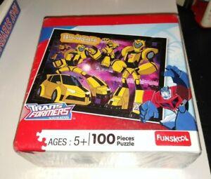 Rare Hasbro 2008 TRANSFORMERS ANIMATED 100 Piece Puzzle New in Box FUNSKOOL