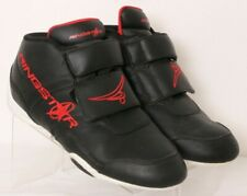 Ringstar FightPro Black Lace-Up 2-Strap Martial Arts Sparring Shoes Men's Us 8