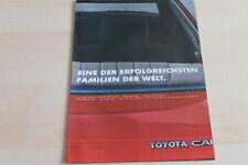 93533) Toyota Celica Supra Corolla Camry Prospekt 198?