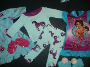 ~BATTAT..OUR GENERATION...18 INCH NIGHT GOWNS & PAJAMAS & SLIPPERS...8.99
