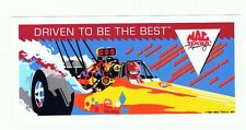 "1991 Mac Tools Racing Advertising 6"" Decal Top Fuel Drag Strip Car NOS Sticker"