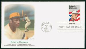 Mayfairstamps US FDC 1984 Roberto Clemente Baseball Player First Day Cover wwp_1