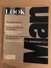 Look Magazine January 10, 1967 The American Man (K16)