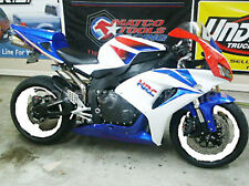 For Honda 2006 2007 CBR1000 RR White Red Blue Injection Complete Cowl Fairing
