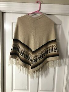 Alpaca Warehouse Cape Poncho Youth Small Adult
