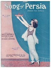 New ListingRichard Whiting Sheet Music Song Of Persia - Persian Rug Song 1922
