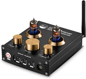 P1 Bluetooth 5.0 Vacuum Tube Preamplifier Hi-Fi Valve Headphone Amplifier Audio