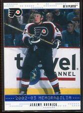 2002-03 BAP Memorabilia Sapphire 80 Jeremy Roenick 12/100