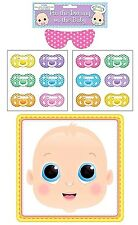 Baby Shower Party Pin The Dummy On The Baby Pacifier Game 12 Guests