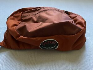 Osprey Atmos AG 65 Backpack BRAIN (top portion)- Cinnabar Red (Rust Orange)
