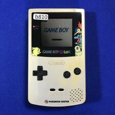b810 Nintendo Gameboy Color console Pokemon Center model Japan GBC Express x