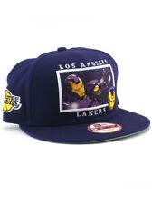 New Era LA Lakers Iron Man 9fifty Snapback Hat NBA Adjustable Marvel Comics NWT
