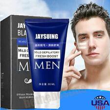 60ml Hair Removal Cream Facial Pubic Beard Depilatory Paste For men US