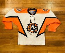 BRIDGEPORT SOUND TIGERS League AHL NY islanders Jersey Youth S/M Reebok Sewn