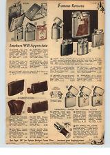 1955 PAPER AD Zippo Cigarette Lighter Hunter Hunting Fly Fishing