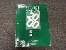 2000 Chevy Camaro & Pontiac Firebird Coupe Engine Shop Service Repair Manual