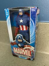 "Captain America Marvel Comics Action Figure 6"" Hasbro"