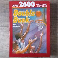 Atari 2600 | 7800 ► Double dunk ◄ complètement dans son emballage d'origine | top
