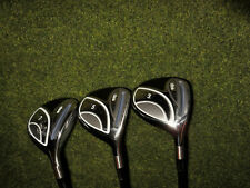 GREAT RIGHT HANDED  LADIES ADAMS GOLF CLUBS IDEA  3 WOOD 5 WOOD and 7 WOOD