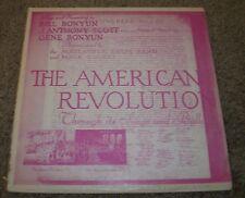 The American Revolution Songs & Ballads Bill Bonyun Scott~Book Insert~VG++ Vinyl