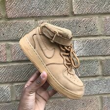 Nike Air Force 1 Suede Hi Tops Trainers KIDS UK Size 1.5