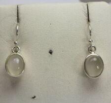 Gioielli di lusso naturali pietra di luna argento sterling