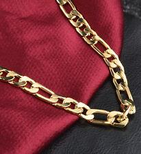 cadena de oro 18k lleno diseño unico basico para los hombre de lujo infinity