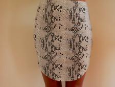 Women's Snake Skin Look Party Gorgeous Pencil Skirt Luvalot brand