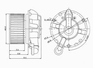 New Blower Motor Global Parts Distributors 2311628