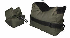 Rifle front and rear rests sand bags (unfilled) target shooting benchrest
