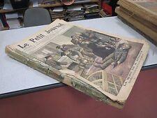 ALBUM RELIURE LE PETIT JOURNAL SUPLEMENT ILLUSTRE ANNEE 1905 *