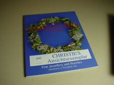 CHRISTIE`S Amsterdam Auktionskatalog Fine Jewellery and Watches 22. 11. 2000.