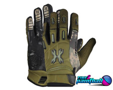 Hk Army Paintball Airsoft Full Finger Pro Gloves - Olive - Xl