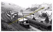 Abergwynfi Railway Station Photo. Blaengarw - Cymmer. Pontycymmer to Maesteg (4)