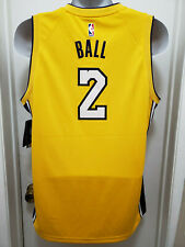 Lonzo Ball Los Angeles Lakers NIke Authentic NBA Basketball Jersey MENS XL