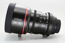 Customized cine lens Canon EF 24-70mm f2.8L for Canon DSLR 5D 6D BMCC RED RAVEN