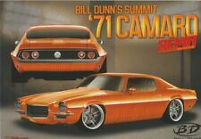 2017 Bill Dunn's Summit '71 Chevy Camaro SEMA Show Promo info card