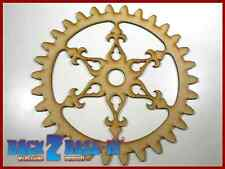 Steampunk Cogs Gears Wheel Laser Cut MDF Decorative Accessory 200mm x 3mm  COG11