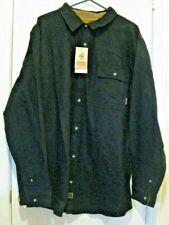 Buck Camp Flannels Legendary Whitetails Long sleeved, black 2XL Tall
