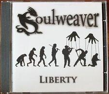 SOULWEAVER. LIBERTY. CD ALBUM. NEW. UK DISPATCH.