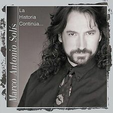 Solis, Marco Antonio Historia Continua CD