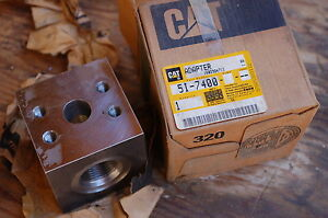 Caterpillar 5I-7400 Adapter Spare Part Component Tractor Dozer Crawler Excavator