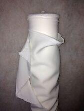 Tissu au mètre BURLINGTON Blanc NOEL infroissable habillement largeur 150 cm