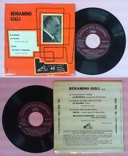 LP 45 7'' BENIAMINO GIGLI La spagnola La paloma Lolita Mattinata no cd mc dvd
