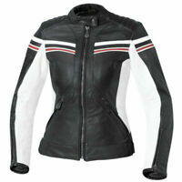 Ladies Racing Biker Motorbike Leather Jacket Motorcycle Leather Jackets CE