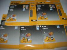 Dewalt Elu 25 x Velcro Maille 150 mm ponçage disque 60, 80,120,240,320g DW443 D26410